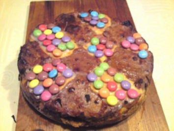 Käsekuchen:Gregor's Knusperkäseburzeltagskuchen - Rezept