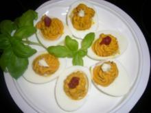 Fingerfood --- gefüllte Eier - Rezept