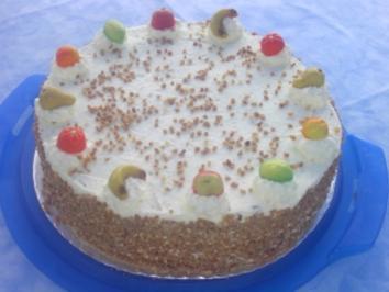Bananen Sahne Torte Rezept Mit Bild Kochbar De