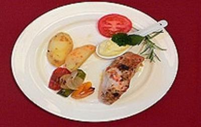 Hähnchenbrust à la Gunter mit buntem Gemüse und Erdäpfeln - Rezept - Bild Nr. 9