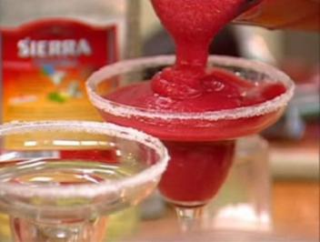 Frozen Strawberry Margarita - Rezept