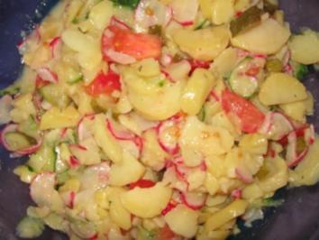 kalorienarmer Kartoffelsalat - Rezept