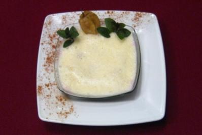 Waldgeist-Dessert mit Vanilleschaum - Nebel von Avalon - Rezept