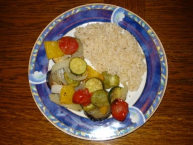 Backofen Ratatouille mit Kräutern der Provence - Rezept
