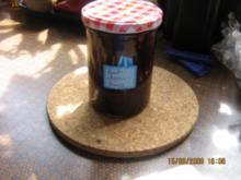 Kirsch-Sharon-Konfitüre mit Minze - Rezept
