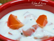 Tomaten-Gurken Raita - Rezept - Bild Nr. 7690