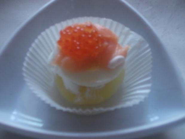 Kartöffelchen mit Lachs & Kaviar - Rezept - Bild Nr. 2