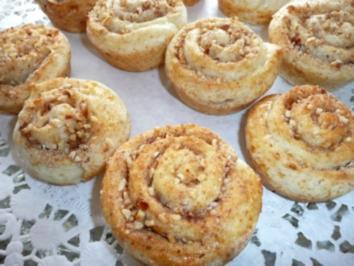 Gerollte Muffins - Rezept