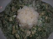 Kräuterhühnchen in cremiger Champignon-Weißweinsauce - Rezept