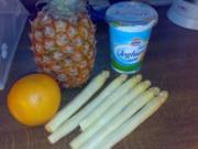 fruchtiger Spargelcocktail - Rezept