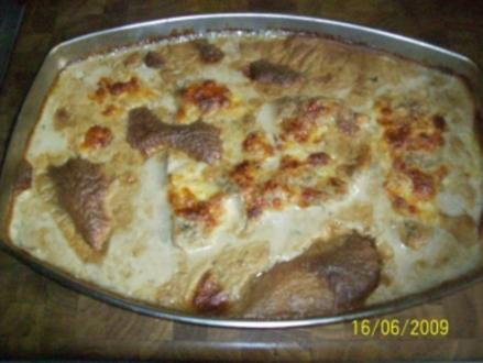 Schweineschnitzel in Pilz - Rahmsauce - Rezept