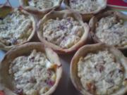 Herzhafte Feta Zwiebel Muffin - Rezept