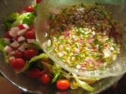 Salatdressing 4 - Kräuter-Sherry-Dressing - Rezept