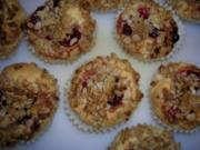 Preiselbeer-Muffins - Rezept