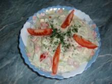 Salat : Tomaten-Gurken-Salat - Rezept