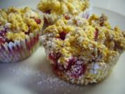 Kikis Johannisbeer-Streusel-Muffins - Rezept