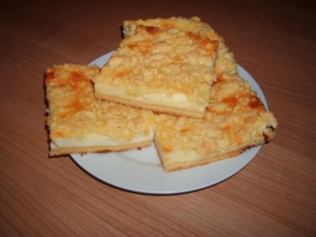 Quark-Streusel-Kuchen - Rezept