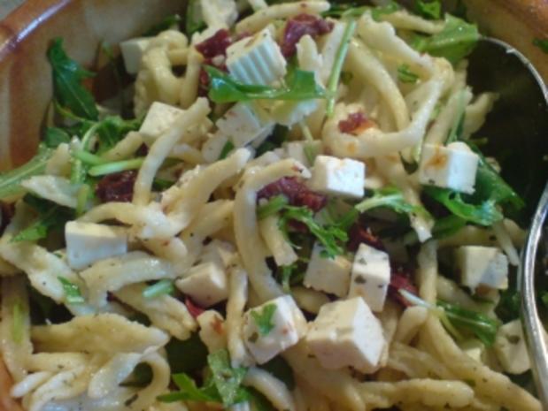 "Salat ""Mediterraner Spaghetti-Salat"" - Rezept"