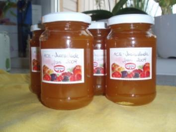 ACE  -  Orangen-Karotten-Marmelade - Rezept