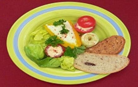 Gefülltes ungarisches Gemüse (nach Banater Art) - Rezept