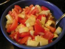 tomaten gurken salat - Rezept