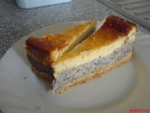 Mohn - Schmand - Kuchen - Rezept