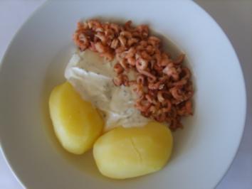 Schmal Hans 5 - Pellkartoffeln mit Nordseekraben und Kräuterquark - Rezept
