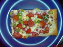 Pizza nochmal anders! - Rezept