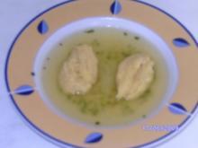 Schwämmchen - Feine Suppeneinlage - Rezept