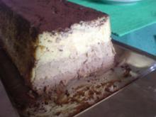 Ein Kuchen-Traum aus 3 Schichten: Vanille, Kaffee, Schokolade - Rezept