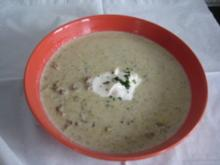 Käse-Porree-Suppe - Rezept