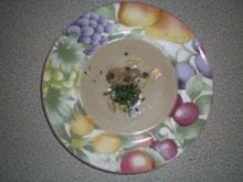 Champignon Creme Suppe - Rezept