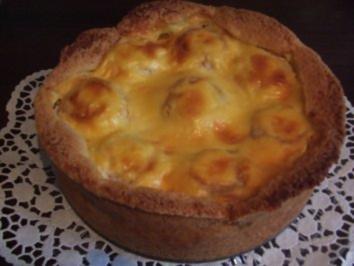 Apfel-Puddingkuchen - Rezept