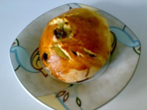 ** Brot & Brötchen ** Rosinenbrötchen - Rezept