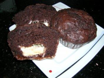 Rezept: Schoko-Schicht-Muffins