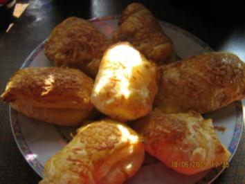 Käse-Schinken-Taschen - Rezept