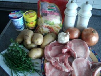 Kartoffel - Kotelett - Auflauf - Rezept