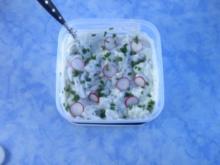 Gemüsequark mit Pellkartoffeln - Rezept
