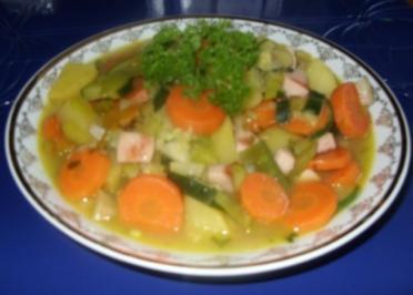 Linda´s deftige Gemüsesuppe - Rezept