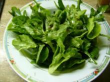 grüner Salat mit Ruccola - Rezept