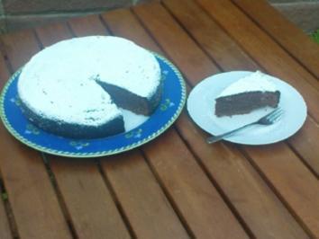 Zarter Schokoladenkuchen - Rezept