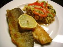 Fisch: Forellenfilet auf Tomatenwirsing - Rezept