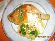 Hähnchen-Kritharaki-Pfanne - Rezept