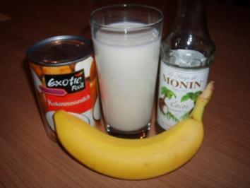 Bananen-Kokos-Shake - Rezept