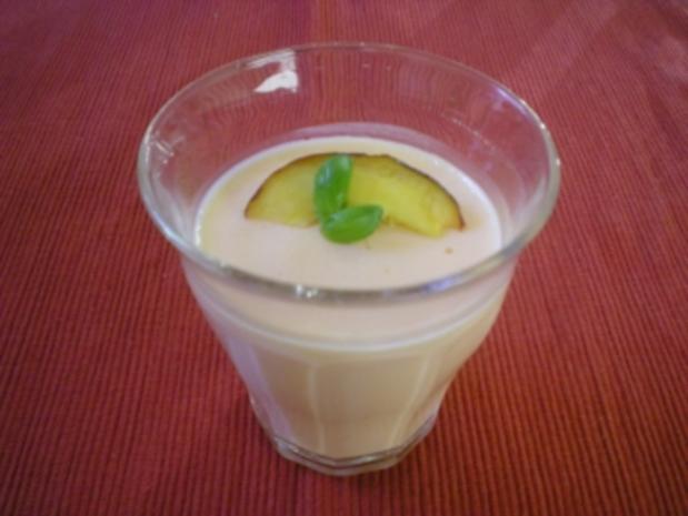 Dessert Creme  mit  Aperol - Rezept