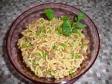 Rindfleisch-Nudelsalat - Rezept