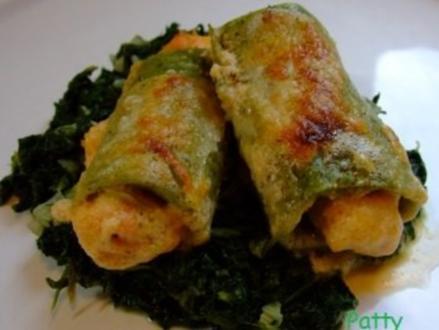 Überbackener Lachs im Lasagneblatt - Rezept
