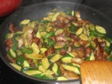 Zucchini alla Carbonara - Rezept