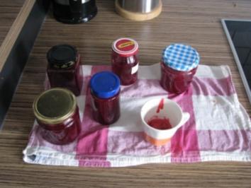 """""""MARMELADE"""" Johannisbeer-Sauerkirsch-Marmelade - Rezept"""