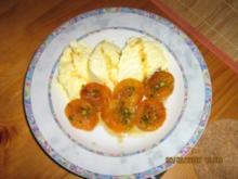 Karamellisierte Aprikosen - Rezept